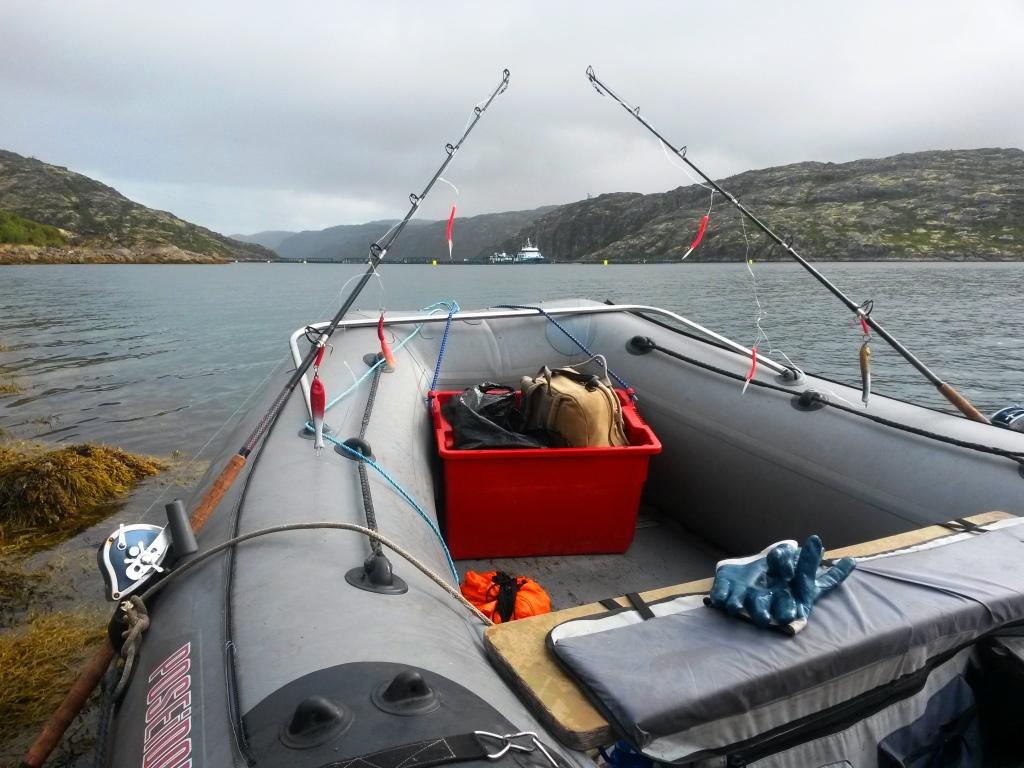 снасти для рыбалки с лодки на волге